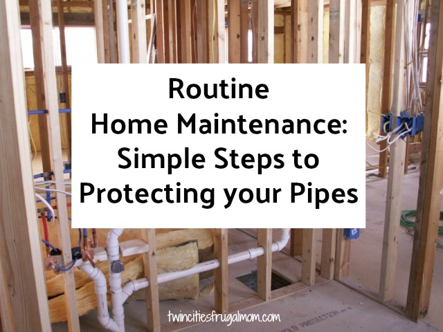 Simple Steps to Protecting your Pipes