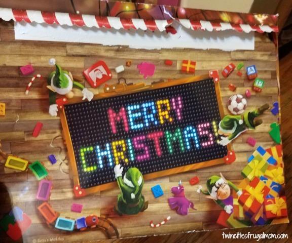 Package from Santa envelope
