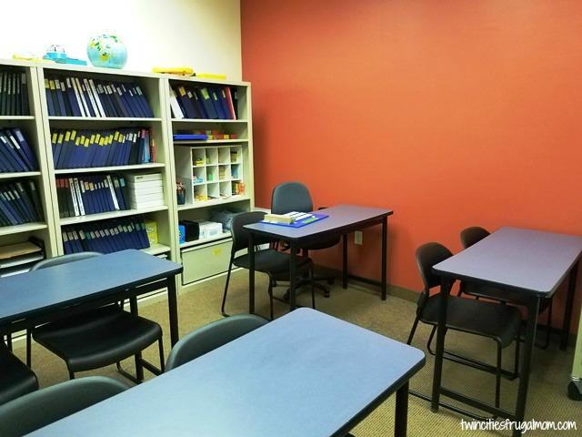 Huntington Learning Center classroom