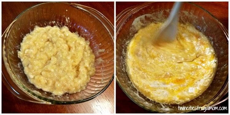 Best Banana Bread Recipe- wet ingredients