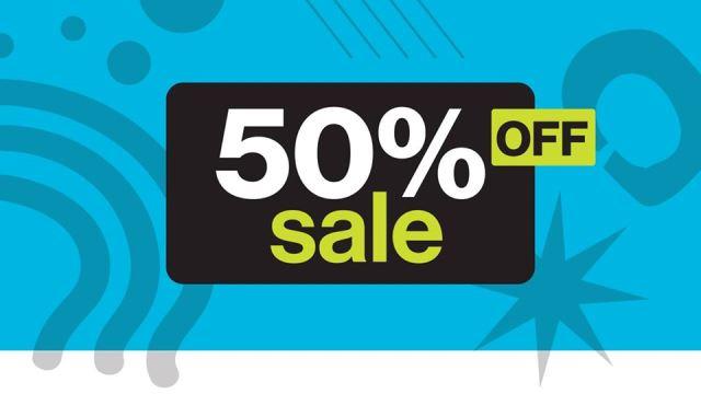 Restore 50% Off Sale