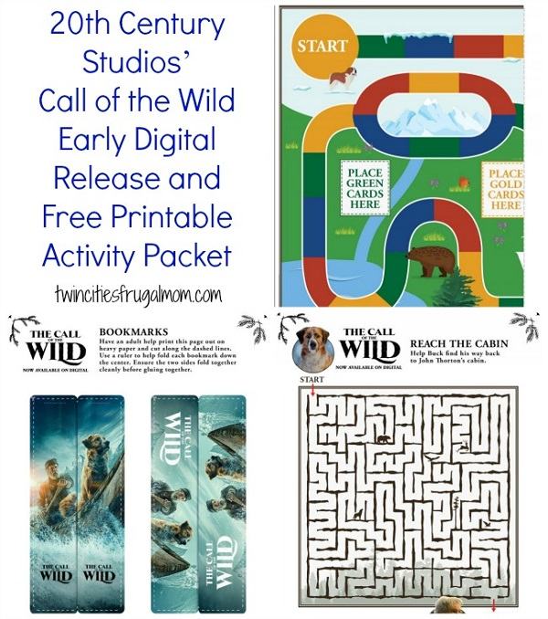 Call of the Wild Free Printables