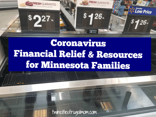 Coronavirus Relief and Resources for Minnesota Families