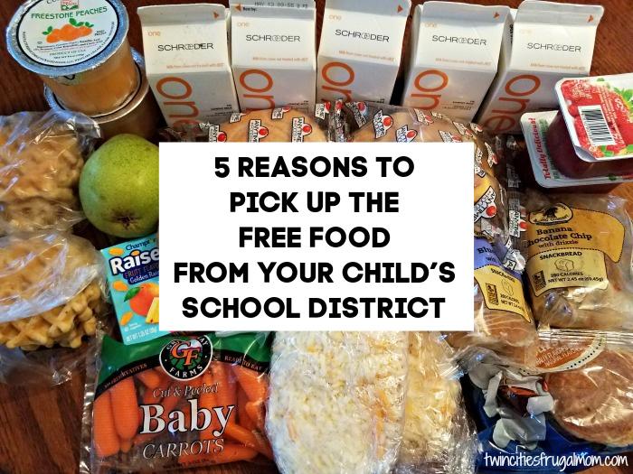 5 Reasons School Food