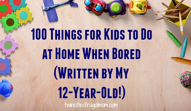 100 Things for Kids to Do