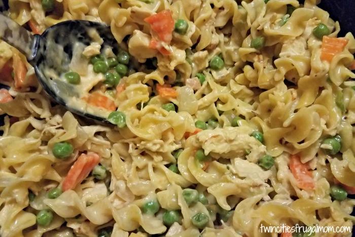 Easy Creamy Chicken & Noodles Recipe