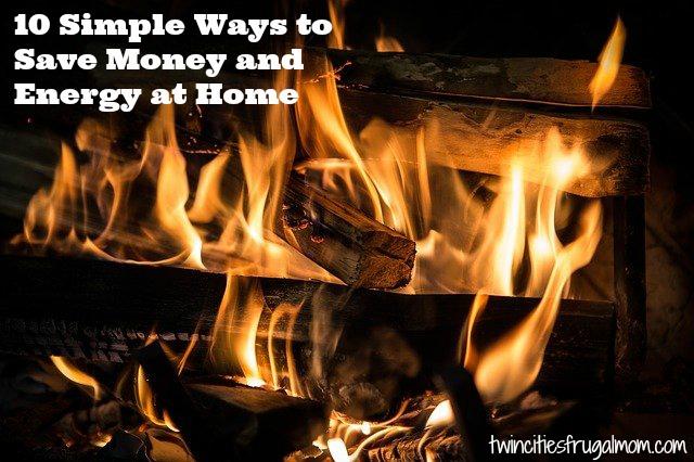 10 Ways Save Money Home