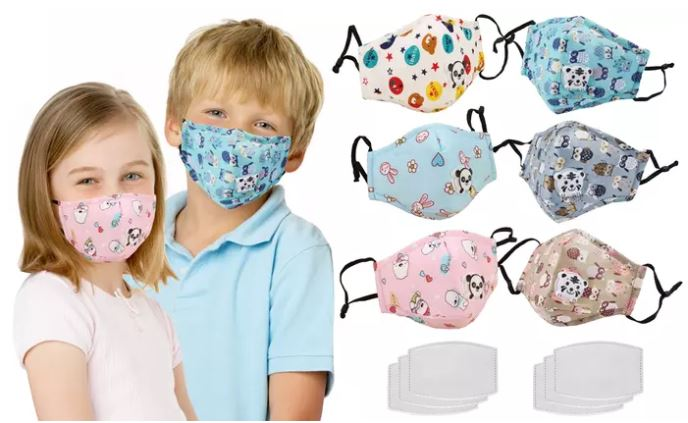 Groupon kids masks