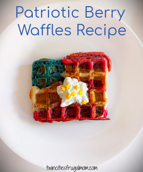 Patriotic Berry Waffles Recipe