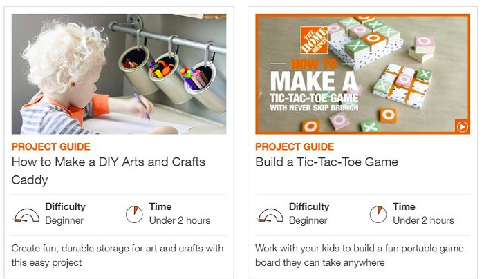 Free Home Depot Kids Workshop Kits