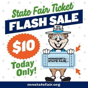 Minnesota State Fair Flash Sale 2020