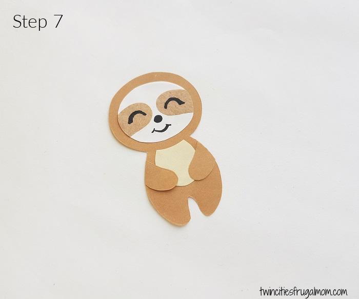 Sloth Valentine Craft