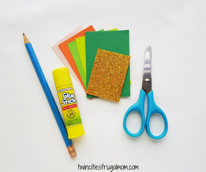 Leprechaun Gnome Paper Craft Supplies