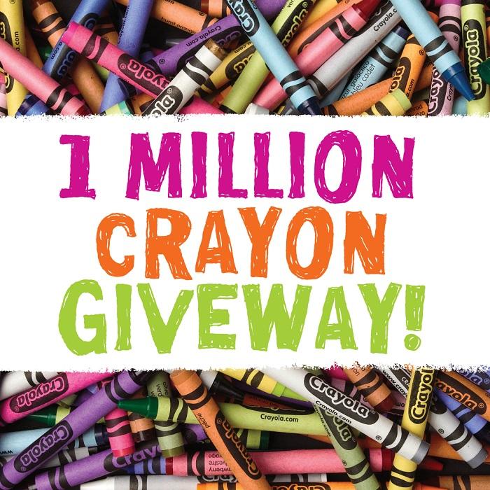 Crayola 1 Million Giveaway
