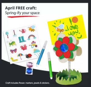 JCPenney April Craft
