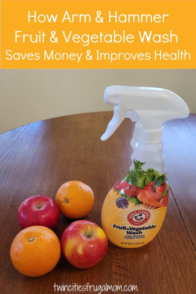 Arm & Hammer Fruit Vegetable Wash