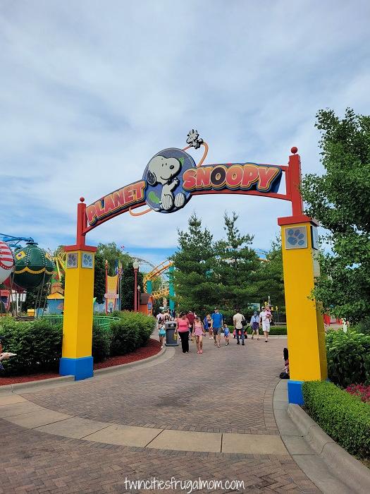 Valleyfair Planet Snoopy
