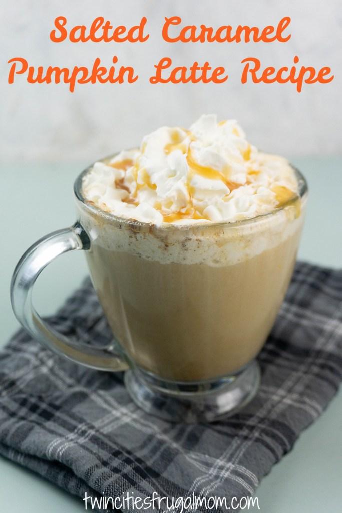 Salted Pumpkin Latte Pinterest