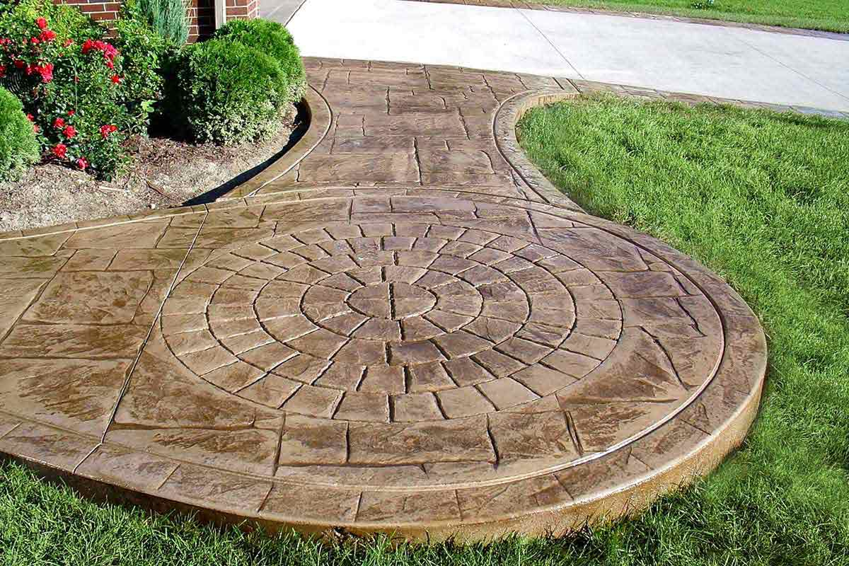 DIY Concrete Patio in 8 Easy Steps | How to pour a cement slab on Diy Concrete Patio Ideas id=50055