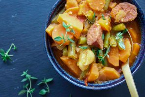 Deftiger Low Carb Bohneneintopf ohne Kartoffeln