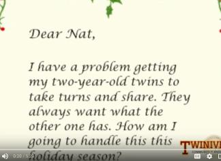 teach twins to share