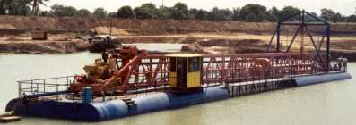 """10"""" L-Series dredge with rotary cutter"""