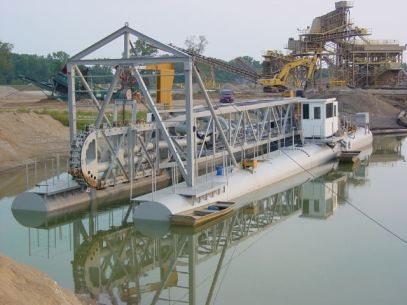 """14"""" L-Series dredge with Linear Cutter"""