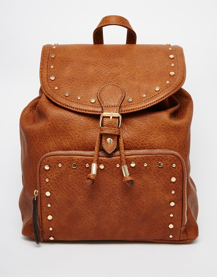 New Look Buckle Backpack