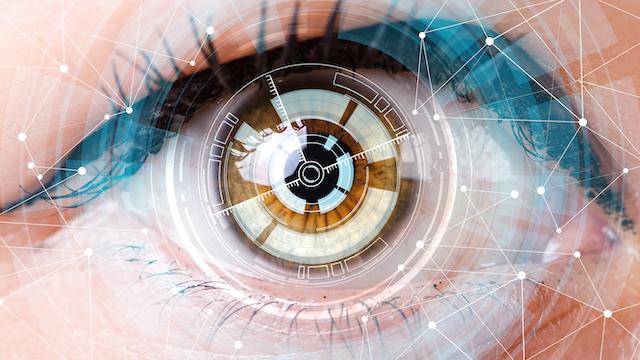 eye scanner for aging
