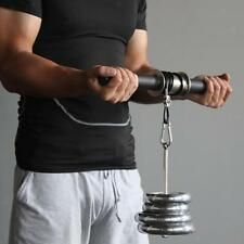 Wrist Roller with a Dumbbell