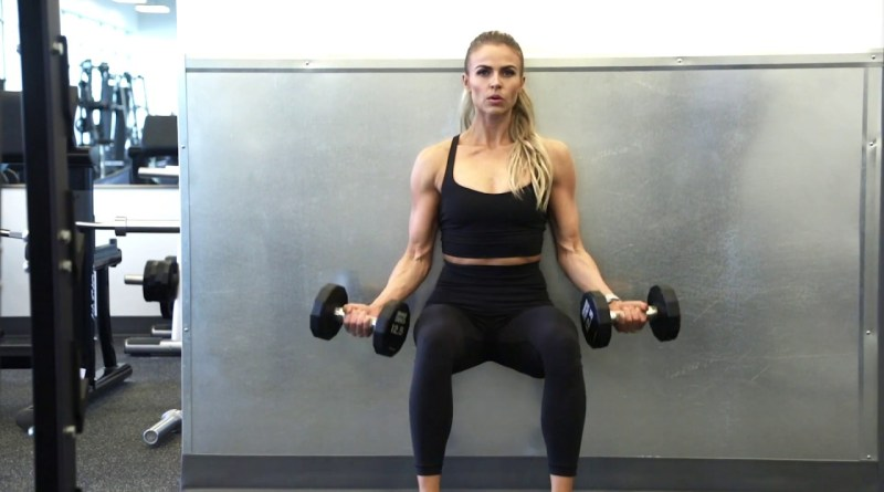 Wall Sit Exercises For Body Toning