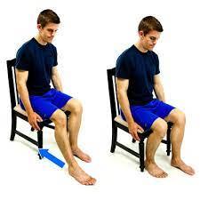 Sitting Heel Slide