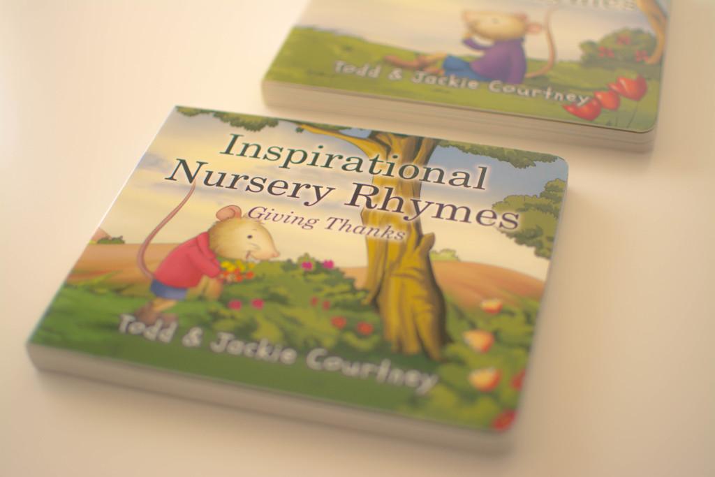 inspirational nursery rhyme book