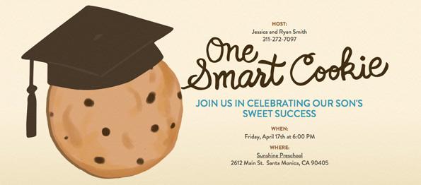 pre school graduation party for evite twinkle twinkle little party