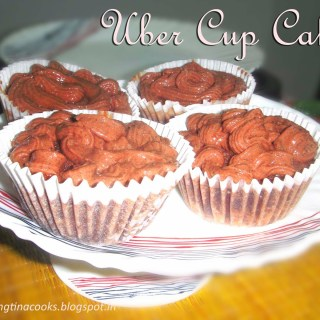 A to Z Challenge Day #21 – U for Uber Cup Cake