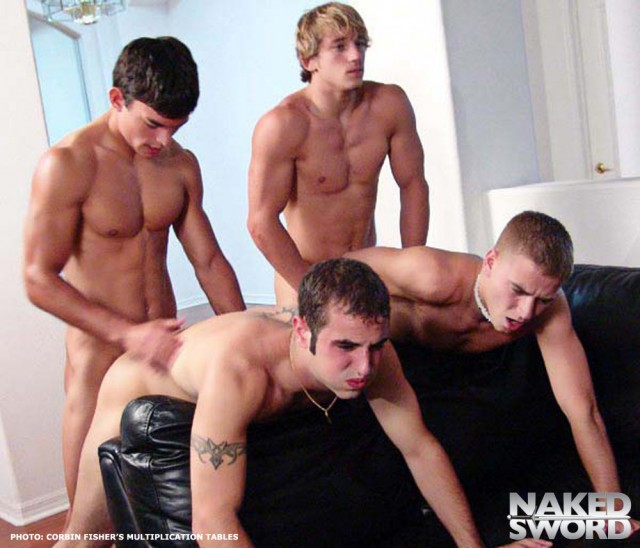 """Corbin Fisher features 20 of their hottest legends in """"Multiplication Tables"""" (Naked Sword)"""