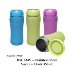 DW 634V -- Stainless Steel Vacuum Flask 350ml