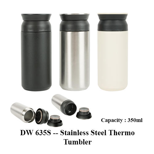 DW 635S — Stainless Steel Thermo Tumbler
