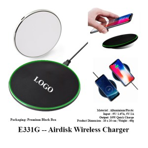 E331G -- Airdisk Wireless Charger