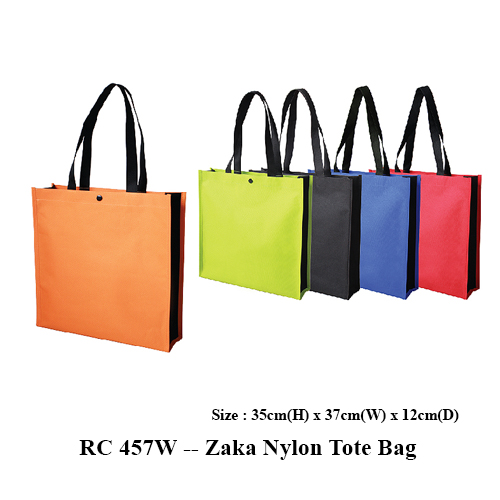 RC 457W — Zaka Nylon Tote Bag