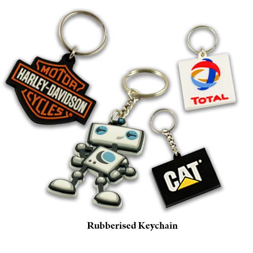 Rubberised Key Chain