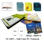 ST 100N -- Full Color PU Notebook