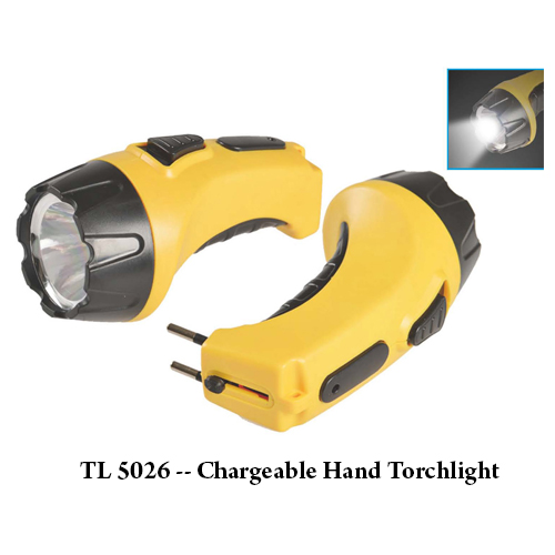 TL 5026 — Chargeable Hand Torchlight