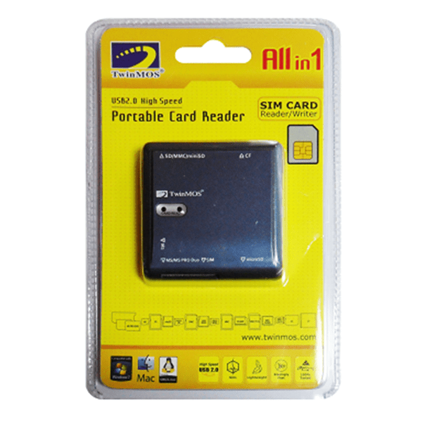 TwinMOS All in 1 with SIM Card Reader/Writer