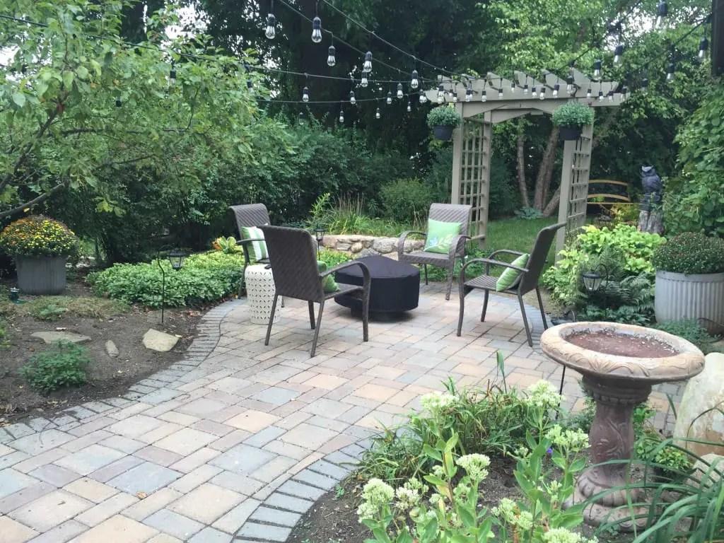 hardscape ideas for small backyards