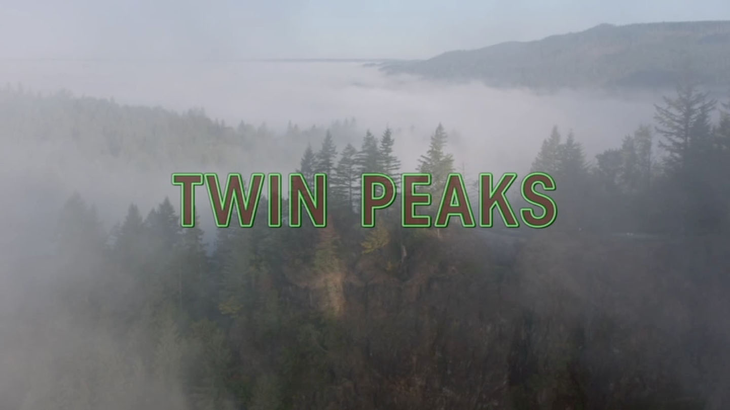 Falling Over The Season Three Opening Credits Twin Peaks Blog