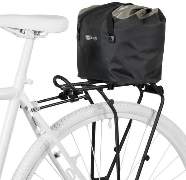 ortlieb bike basket 15l black grey