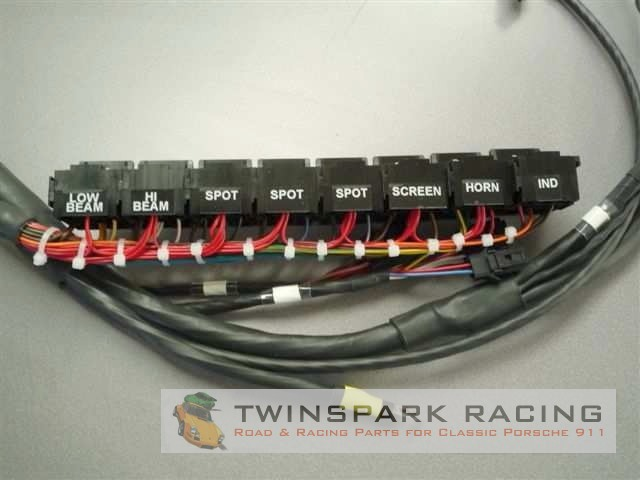 Groovy Replacement Porsche 911 Wiring Loom Twinspark Racing Wiring Digital Resources Dadeaprontobusorg
