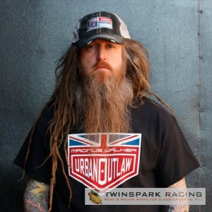 Magnus Walker Urban Outlaw 'Union Jack' Black T Shirt-0