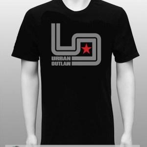 Magnus Walker Urban Outlaw 'Circuit' Black T Shirt-0